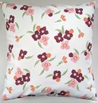 Cushion Cover in Emma Bridgewater Pink Pansy 16""